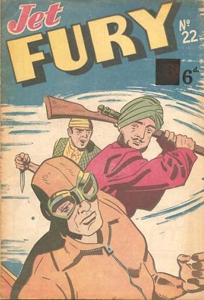 Jet Fury (Pyramid, 1951 series) #22 ([October 1951?])