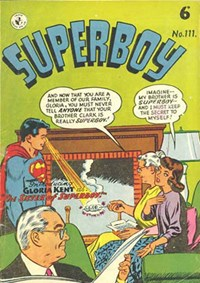 Superboy (Colour Comics, 1950 series) #111 — The Sister of Superboy!