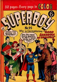 Superboy (Colour Comics, 1950 series) #95 — Good Samaritan of Smallville