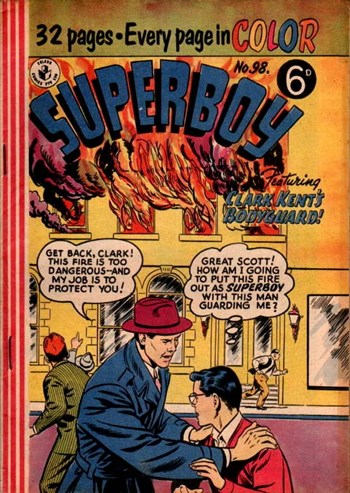 Clark Kent's Bodyguard!—Superboy (Colour Comics, 1950 series) #98  ([April 1957])
