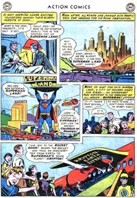 Action Comics (DC, 1938 series) #210 — Superman in Superman Land (page 2)