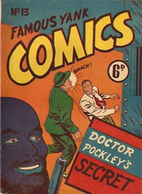 Famous Yank Comics (Ayers & James, 1950 series) #13 ([March 1951?])