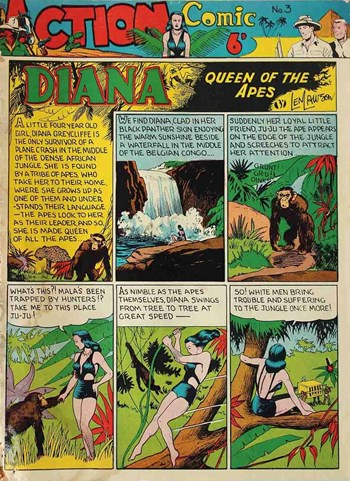 Diana Queen of the Apes
