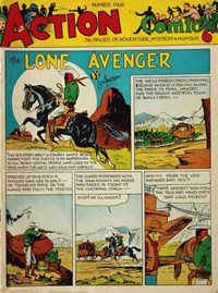Action Comic (Peter Huston, 1946 series) #4 ([November 1946?])