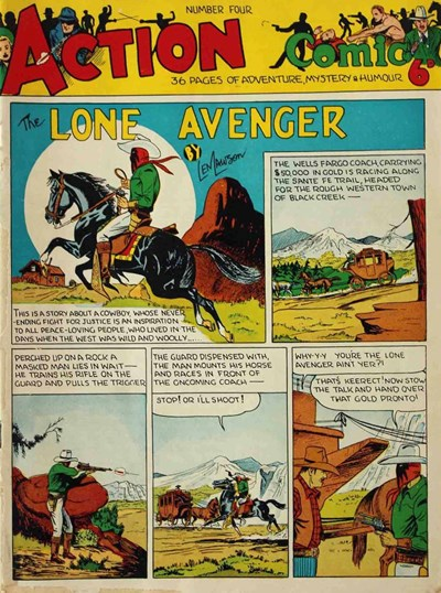 Action Comic (Peter Huston, 1946 series) #4 ([1947?])