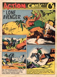 Action Comic (Peter Huston, 1946 series) #7 ([February 1947?])