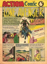 Action Comic (Peter Huston, 1946 series) #9 ([April 1947?])