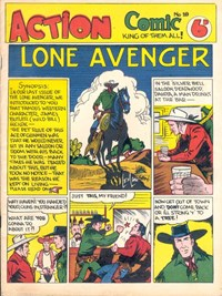 Action Comic (Peter Huston, 1946 series) #10 ([May 1947?])
