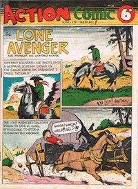 Action Comic (Peter Huston, 1946 series) #11 ([June 1947?])