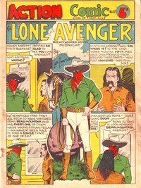 Action Comic (Peter Huston, 1946 series) #12 ([July 1947?])