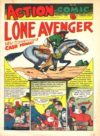 Action Comic (Peter Huston, 1946 series) #13 ([August 1947?])