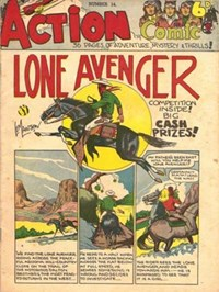 Action Comic (Peter Huston, 1946 series) #14 ([September 1947?])