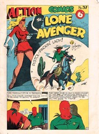 Action Comic (Leisure Productions, 1948 series) #37 ([1949?])