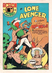 Action Comic (HJ Edwards, 1949? series) #39 ([1949?]) —The Lone Avenger