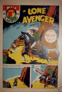 Action Comic (HJ Edwards, 1949? series) #41 ([February 1950?]) —The Lone Avenger