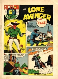 Action Comic (HJ Edwards, 1949? series) #42 ([1950?]) —The Lone Avenger