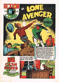 Action Comic (HJ Edwards, 1949? series) #43 ([1950?])