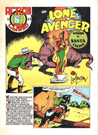 Action Comic (HJ Edwards, 1949? series) #44 ([1950?]) —The Lone Avenger