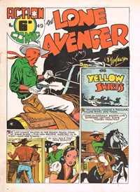 Action Comic (HJ Edwards, 1949? series) #49 ([1950?]) —The Lone Avenger