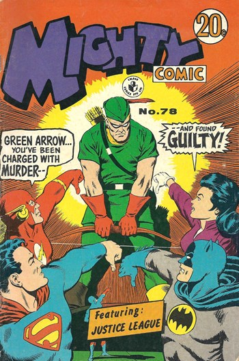 Mighty Comic (Colour Comics, 1960 series) #78 ([August 1970?])