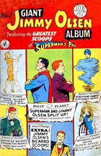 Giant Jimmy Olsen Album (Colour Comics, 1966 series) #1 ([September 1966?])