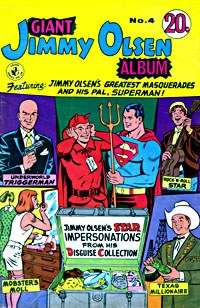 Giant Jimmy Olsen Album (Colour Comics, 1966 series) #4 ([September 1969?])