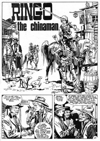 Climax Adventure Comic (Sport Magazine, 1968 series) #7 — The Chinaman (page 1)