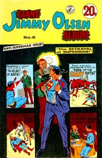 Giant Jimmy Olsen Album (Colour Comics, 1966 series) #6 ([September 1971?])