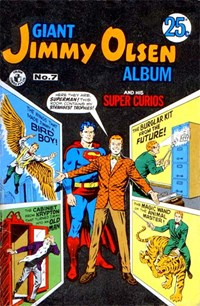 Giant Jimmy Olsen Album (Colour Comics, 1966 series) #7 — No title recorded