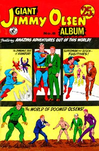Giant Jimmy Olsen Album (Colour Comics, 1966 series) #8 ([April 1973?])