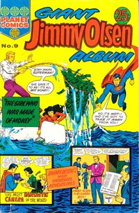 Giant Jimmy Olsen Album (Colour Comics, 1966 series) #9 ([October 1973?])