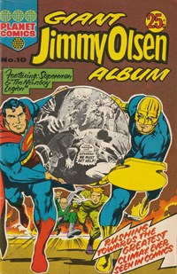 Giant Jimmy Olsen Album (Colour Comics, 1966 series) #10 ([April 1974??])