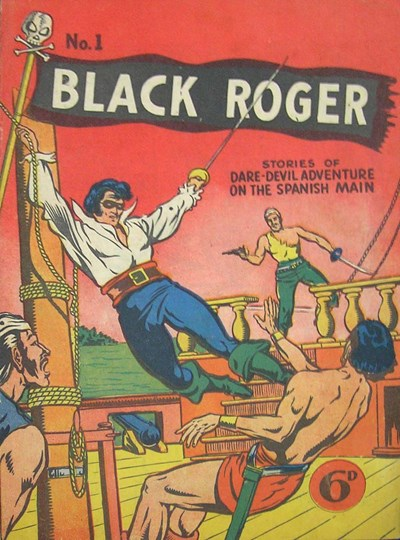 Black Roger Comic (Young's, 1952? series) #1 ([January 1952?])