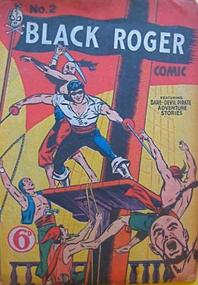 Black Roger Comic (Young's, 1952? series) #2 ([February 1952?])