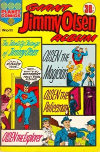 Giant Jimmy Olsen Album (Colour Comics, 1966 series) #11 ([October 1974?])