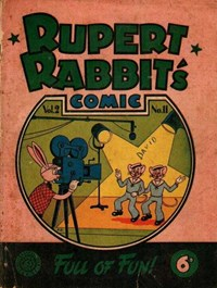 Rupert Rabbit's Comic (Allied, 1946 series) v2#1