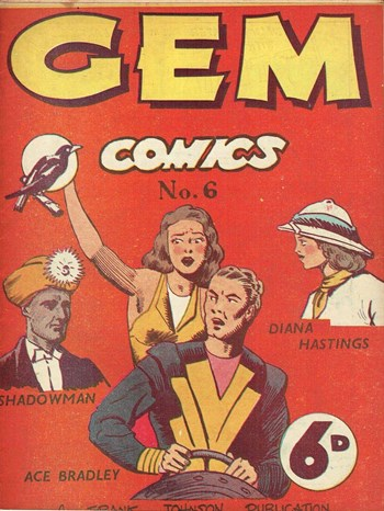 Gem Comics (Frank Johnson, 1946 series) #6  ([1947?])