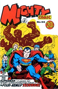 Mighty Comic (Colour Comics, 1960 series) #94 — The Four-Armed Terror!
