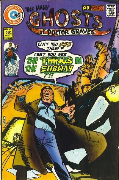 The Many Ghosts of Dr. Graves (Charlton, 1967 series) #43 (December 1973)