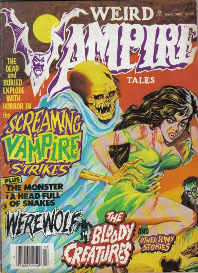 Weird Vampire Tales (Modern Day, 1979 series) #Vol. 5 No. 3 (March 1982)