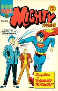 Mighty Comic (KG Murray, 1973 series) #105 — A Bad Act to Follow!