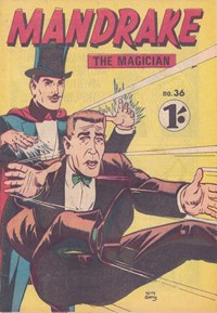 Mandrake the Magician (Photo-Type, 1963 series) #36 — Untitled