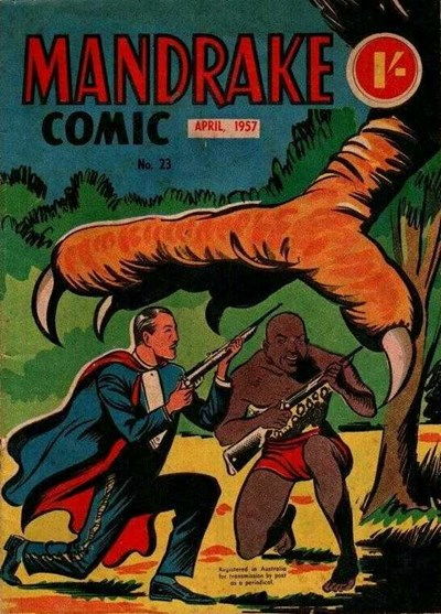 Mandrake Comic (Shakespeare Head, 1955 series) #23 (April 1957)