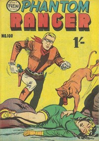 The Phantom Ranger (Frew, 1952 series) #100 — Untitled