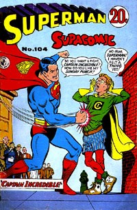 Superman Supacomic (Colour Comics, 1959 series) #104 — Captain Incredible