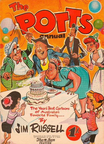 The Potts Annual (Sun, 1952 series)  ([1955?])