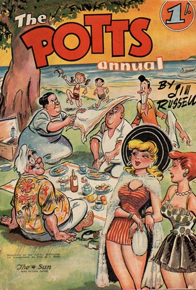 The Potts Annual (Sun, 1952 series)  ([1957?])