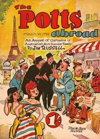 The Potts Annual (Sun, 1952 series)  ([December 1953]) —The Potts Abroad