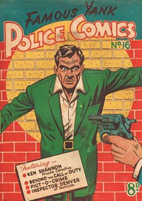 Famous Yank Police Comics (Ayers & James, 1951 series) #16 — Untitled