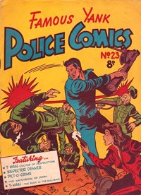 Famous Yank Police Comics (Ayers & James, 1951 series) #23 — Untitled
